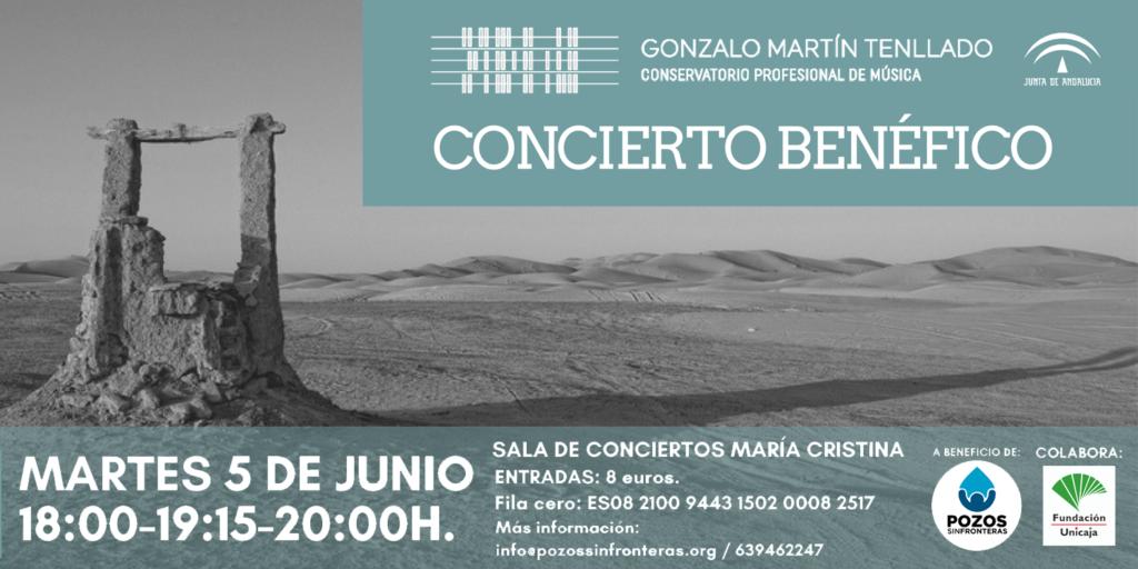 Concierto benéfico a favor de pozos sin fronteras por parte de los alumnos del conservatorio profesional de música
